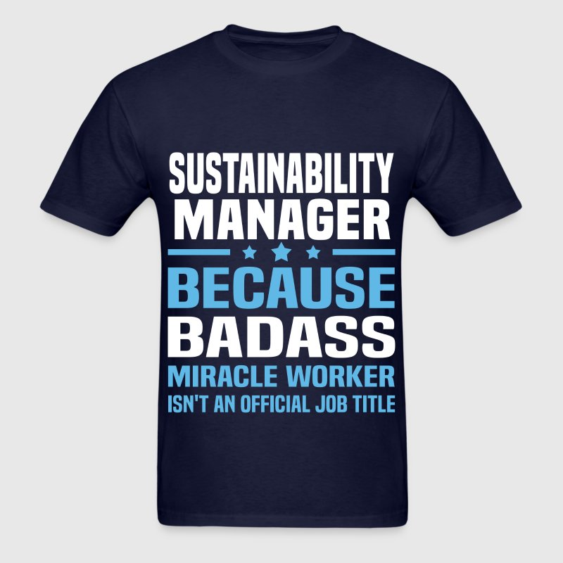 Sustainability Manager Tshirt - Men's T-Shirt