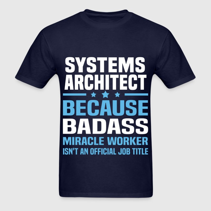 Systems Architect Tshirt - Men's T-Shirt