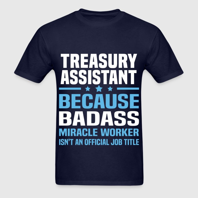 Treasury Assistant Tshirt - Men's T-Shirt