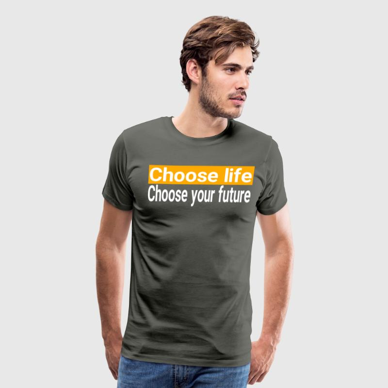 Trainspotting - Choose Life T-Shirts - Men's Premium T-Shirt