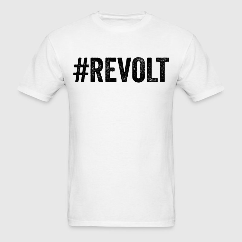 Revolt Hashtag Resist Anti Donald Trump - Men's T-Shirt