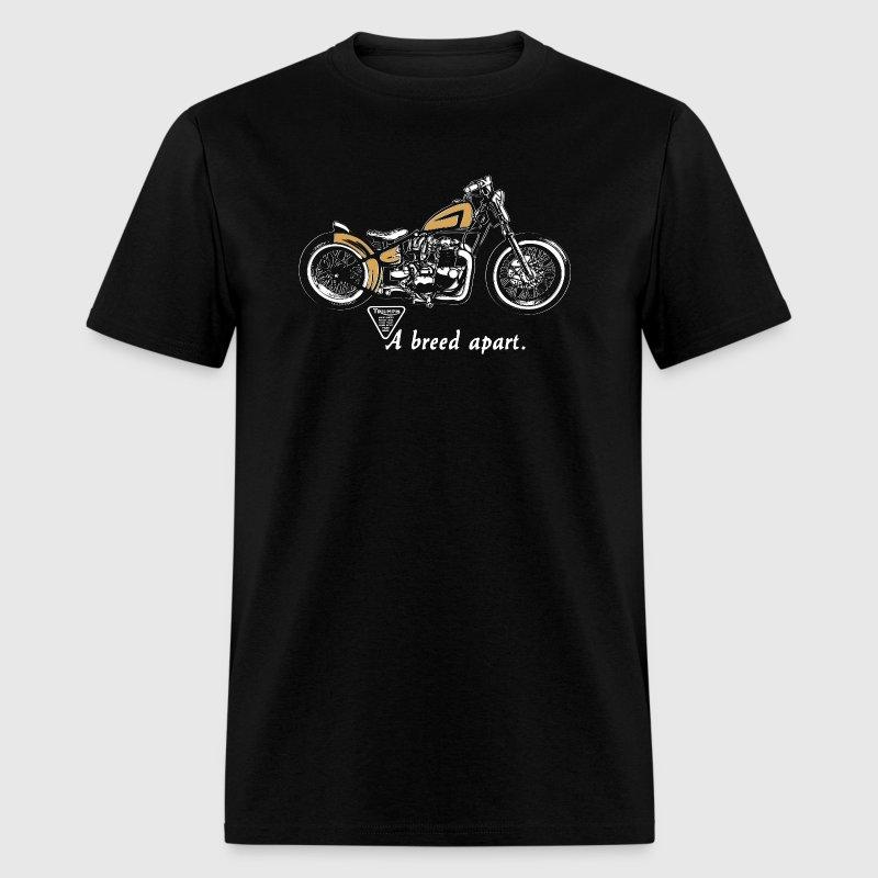 classic triumph motorcycle vintage 70's biker t-shirt | spreadshirt