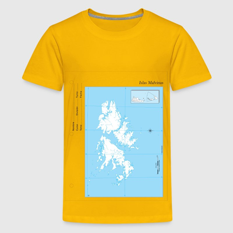 Map Islas Malvinas - Kids' Premium T-Shirt