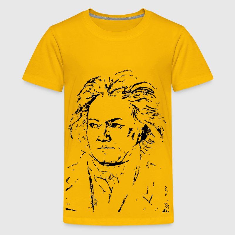 Beethoven in 1818 - Kids' Premium T-Shirt