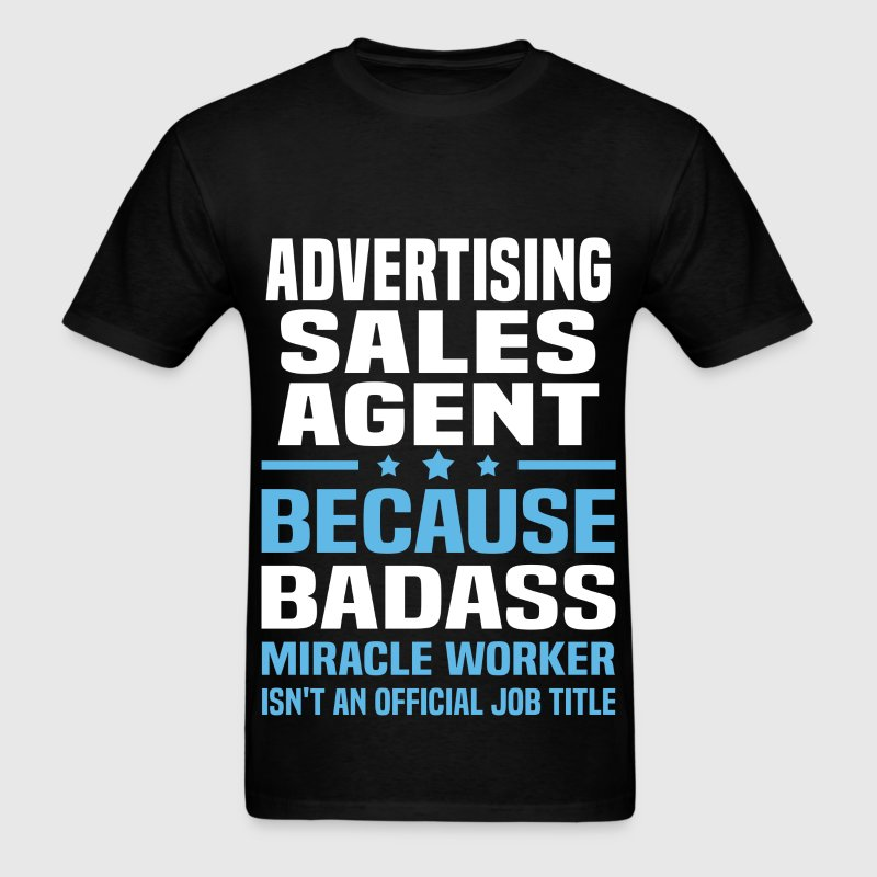 Advertising Sales Agent Tshirt - Men's T-Shirt