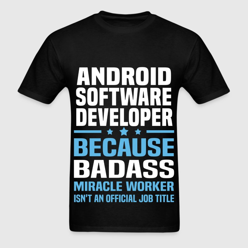 Android Software Developer Tshirt - Men's T-Shirt