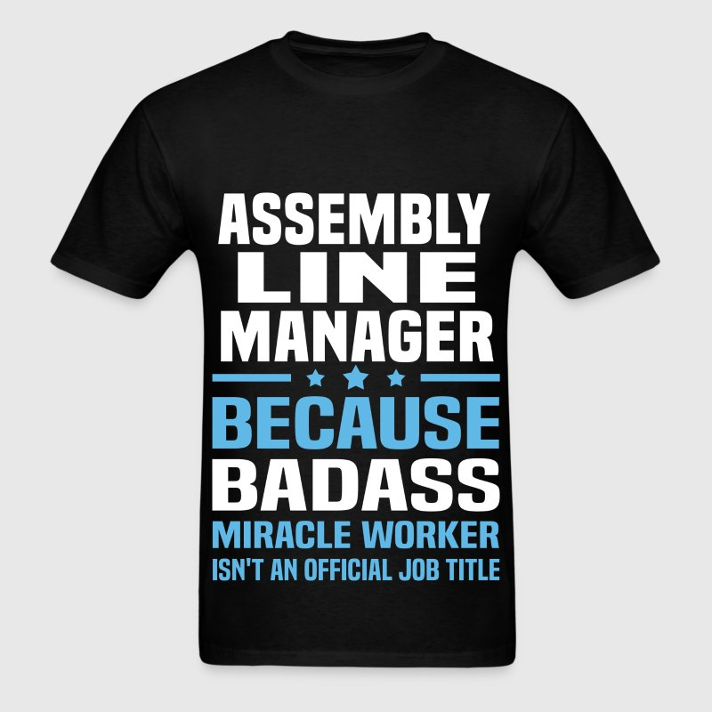 Assembly Line Manager Tshirt - Men's T-Shirt