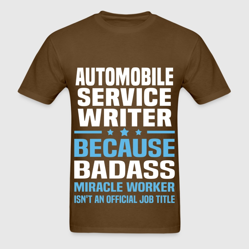 automobile service writer t shirt spreadshirt - Service Writer