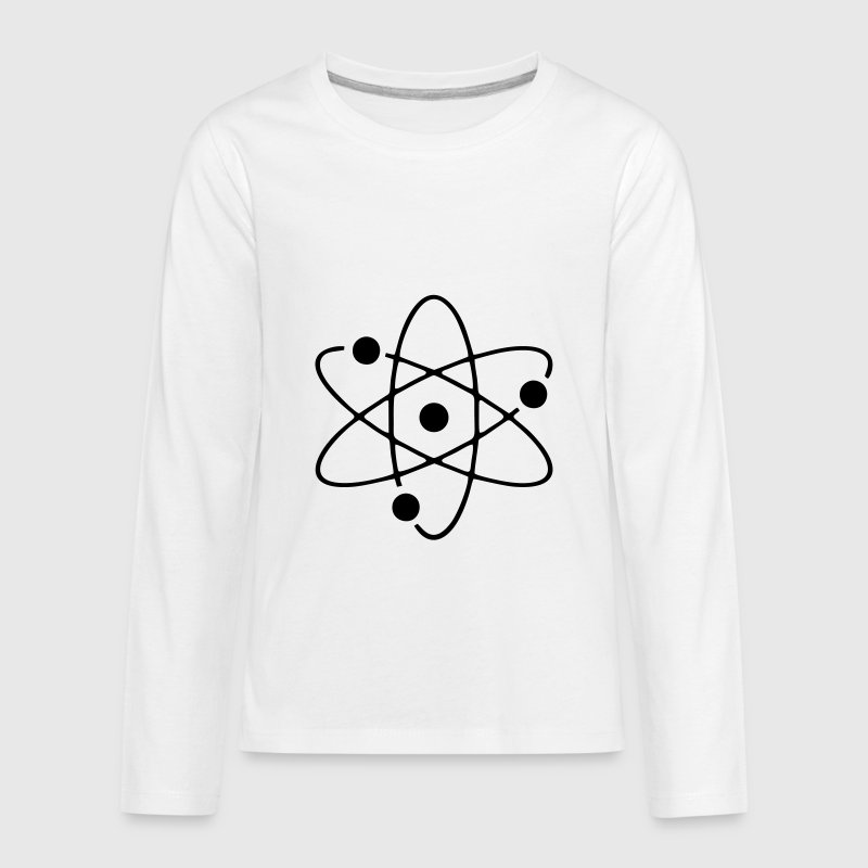 Atom, science Kids' Shirts - Kids' Premium Long Sleeve T-Shirt