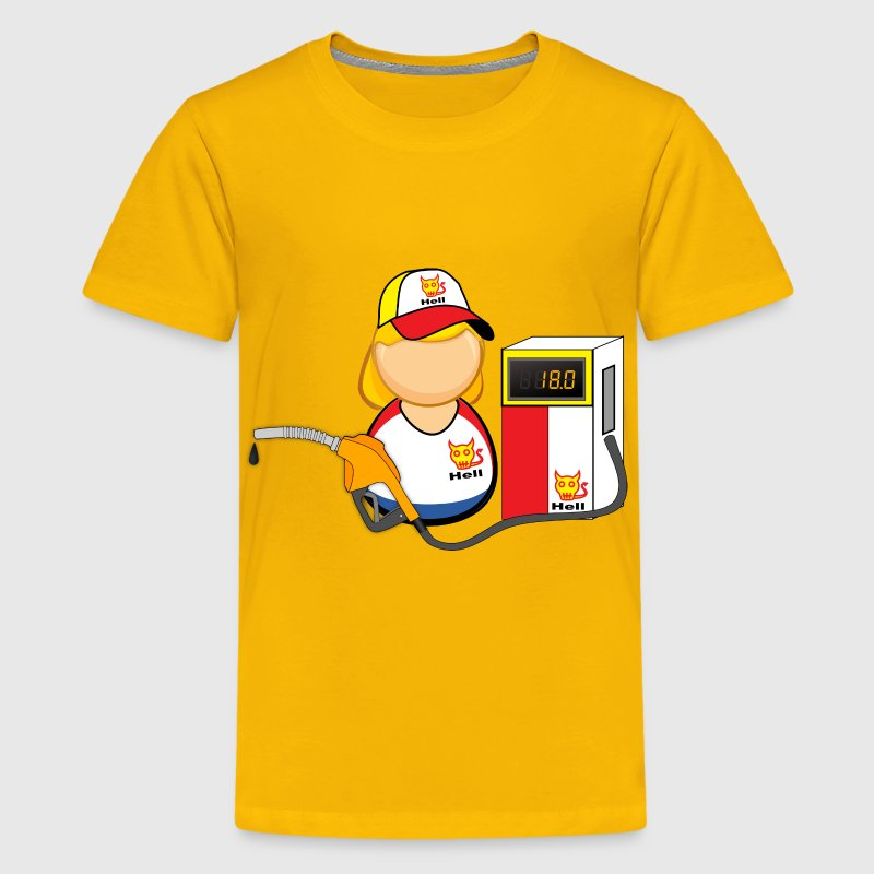 Gas station attendant - Kids' Premium T-Shirt