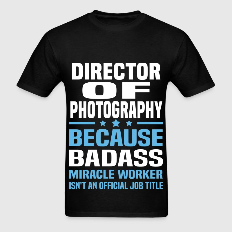 Director Of Photography Tshirt - Men's T-Shirt