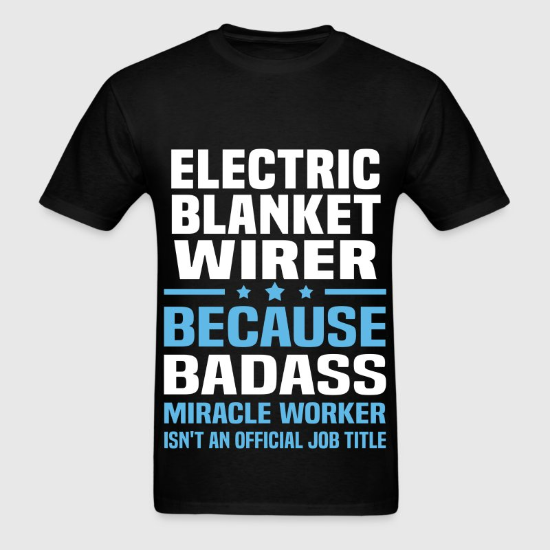 Electric Blanket Wirer Tshirt - Men's T-Shirt