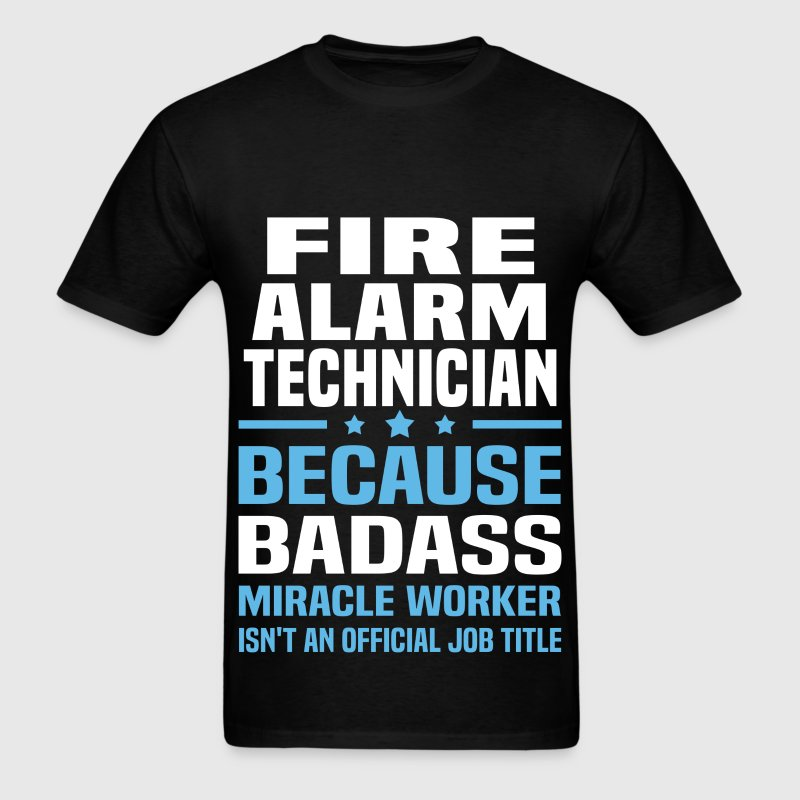 Fire Alarm Technician Tshirt - Men's T-Shirt