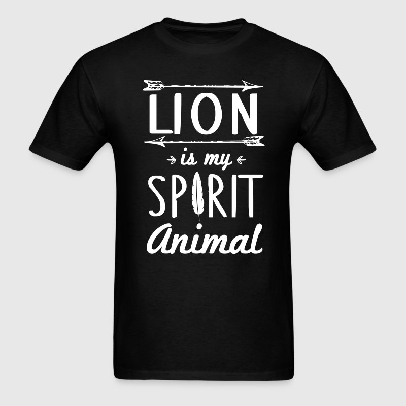 Lion Spirit Animal T-Shirt T-Shirts - Men's T-Shirt