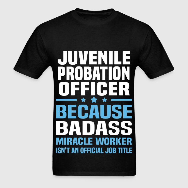 Juvenile Probation Officer Tshirt - Men's T-Shirt