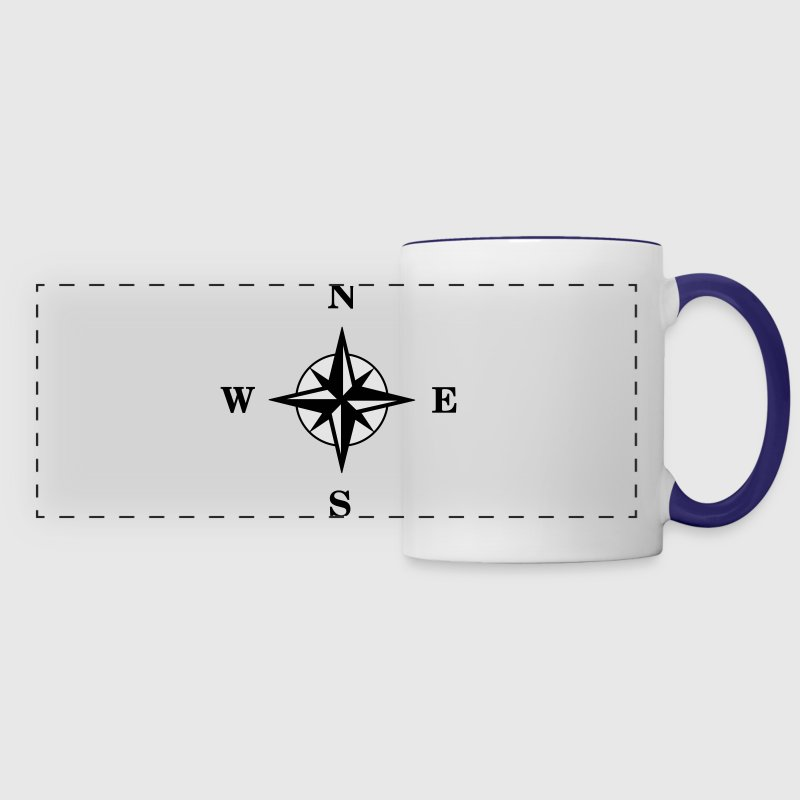 Compass Mugs & Drinkware - Panoramic Mug