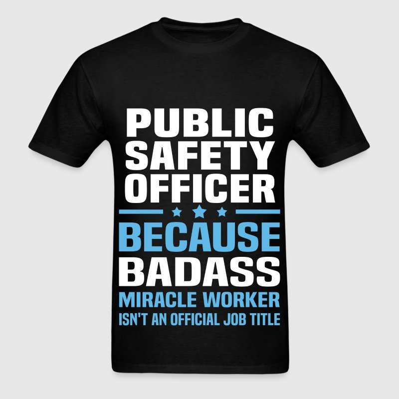 Public Safety Officer Tshirt - Men's T-Shirt