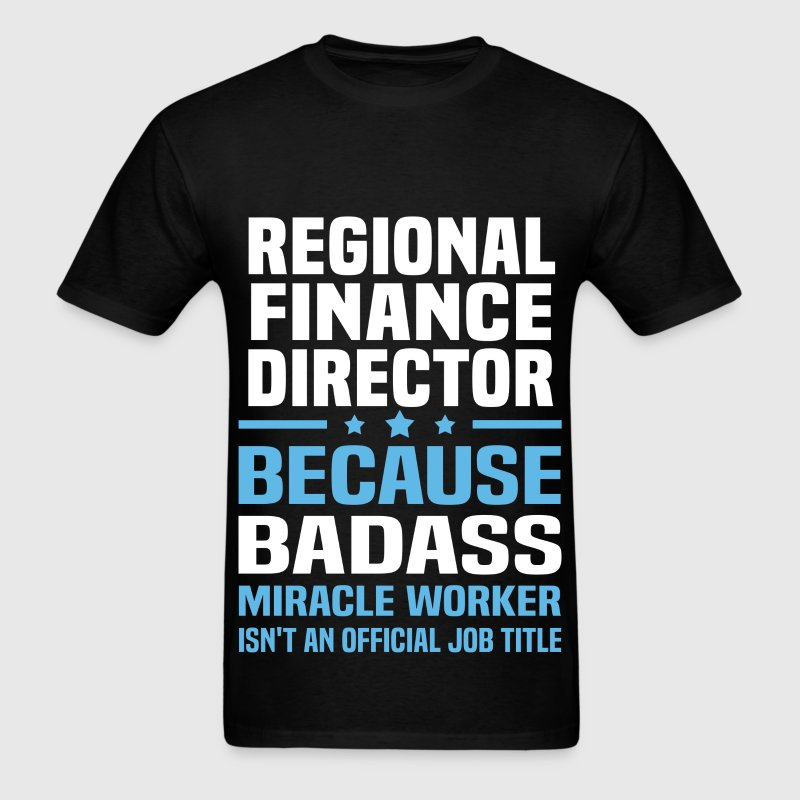 Regional Finance Director Tshirt - Men's T-Shirt