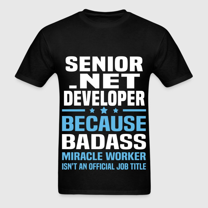 Senior .NET Developer Tshirt - Men's T-Shirt
