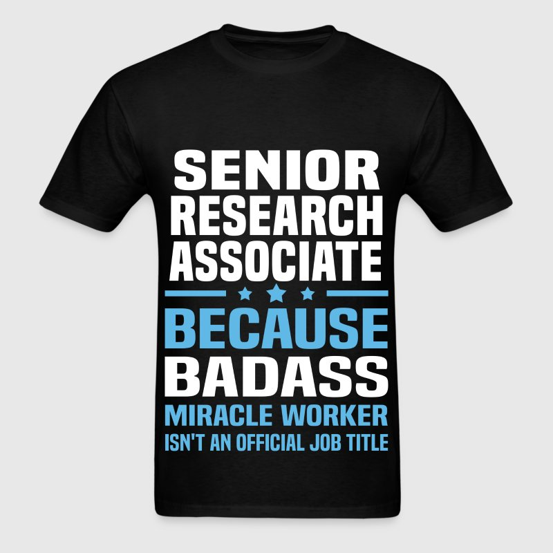 Senior Research Associate Tshirt - Men's T-Shirt