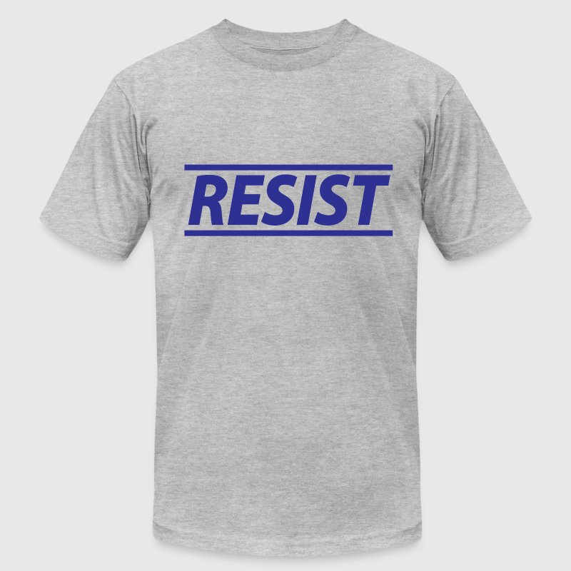 Resist - Mens Tee - Men's T-Shirt by American Apparel
