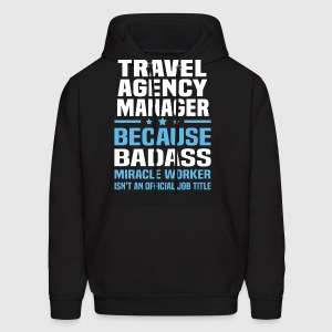 mens hoodie - Agency Manager
