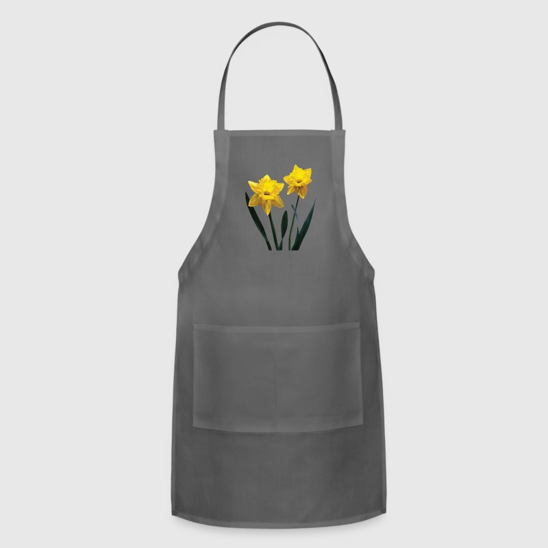 Yellow Daffodil Pair Aprons - Adjustable Apron