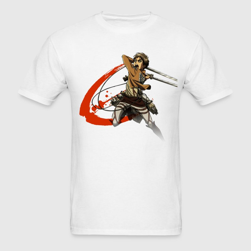 Attack On Titan Slash - Men's T-Shirt