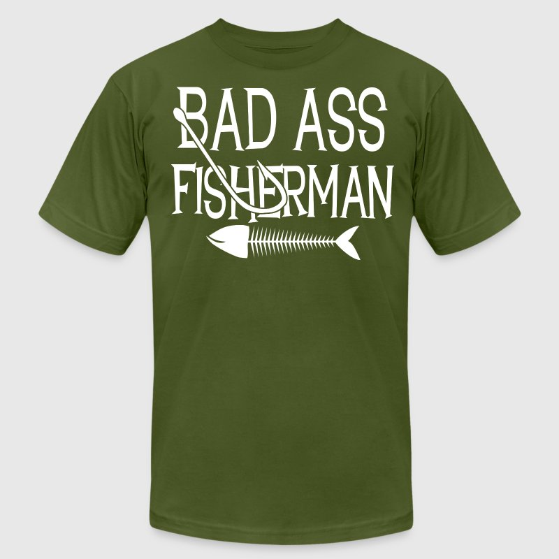Funny Fishing Shirts - Men's Fine Jersey T-Shirt