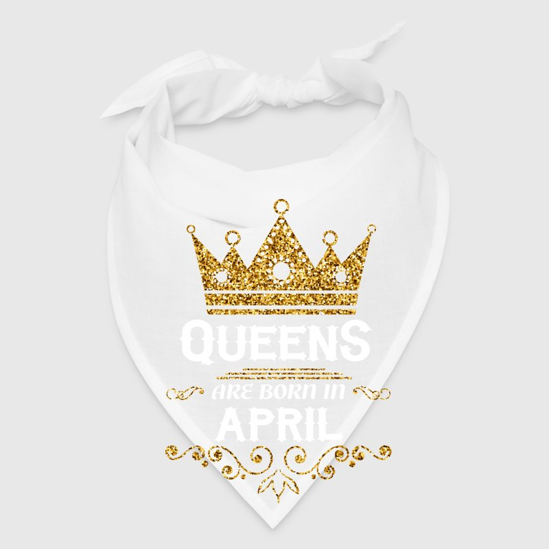 queens are born in april Caps - Bandana