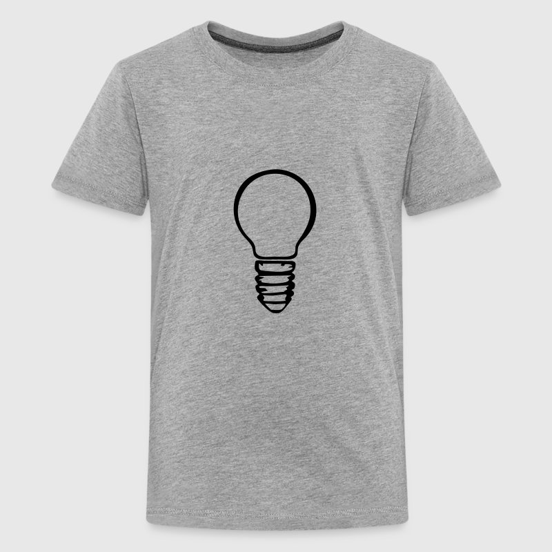 Light bulb Kids' Shirts - Kids' Premium T-Shirt
