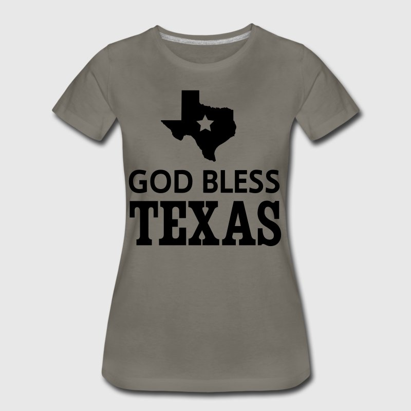 God Bless Texas T-Shirts - Women's Premium T-Shirt