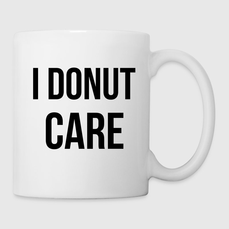 I donut care Mugs & Drinkware - Coffee/Tea Mug