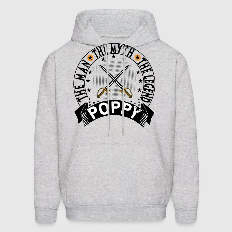 POPPY THE MAN THE MYTH THE LEGEND Hoodies - Men's Hoodie