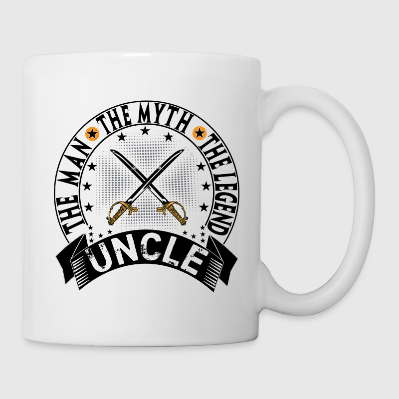 UNCLE THE MAN THE MYTH THE LEGEND Mugs & Drinkware - Coffee/Tea Mug