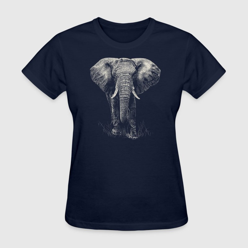 Elephant T-Shirts - Women's T-Shirt