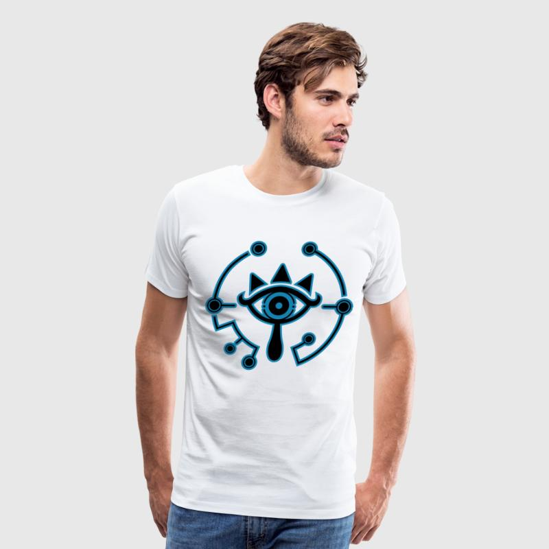 sheikah blue 2 - Men's Premium T-Shirt