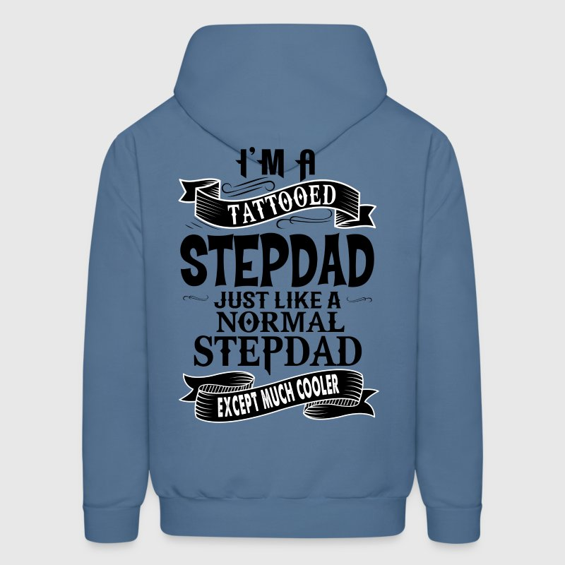 TATTOOED STEPDAD Hoodies - Men's Hoodie