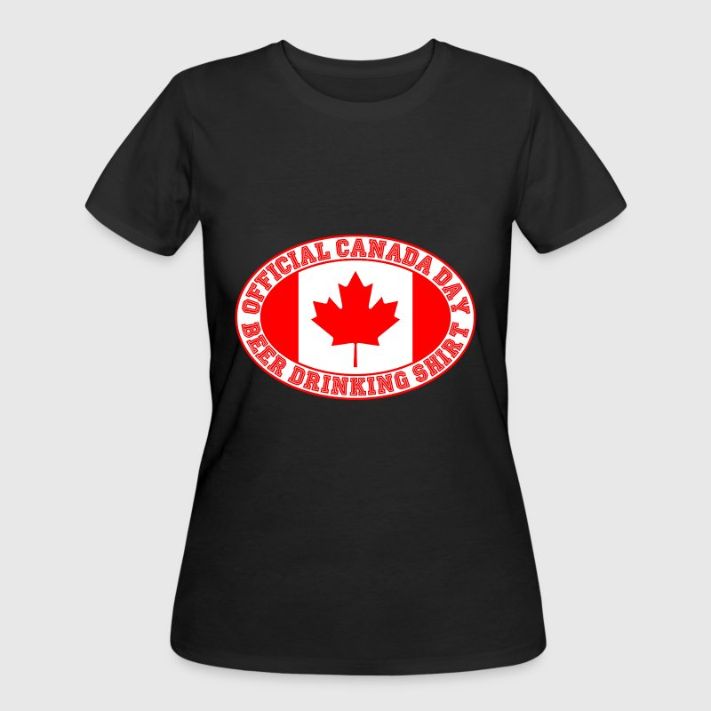 OFFICIAL CANADA DAY BEER DRINKING SHIRT - Women's 50/50 T-Shirt