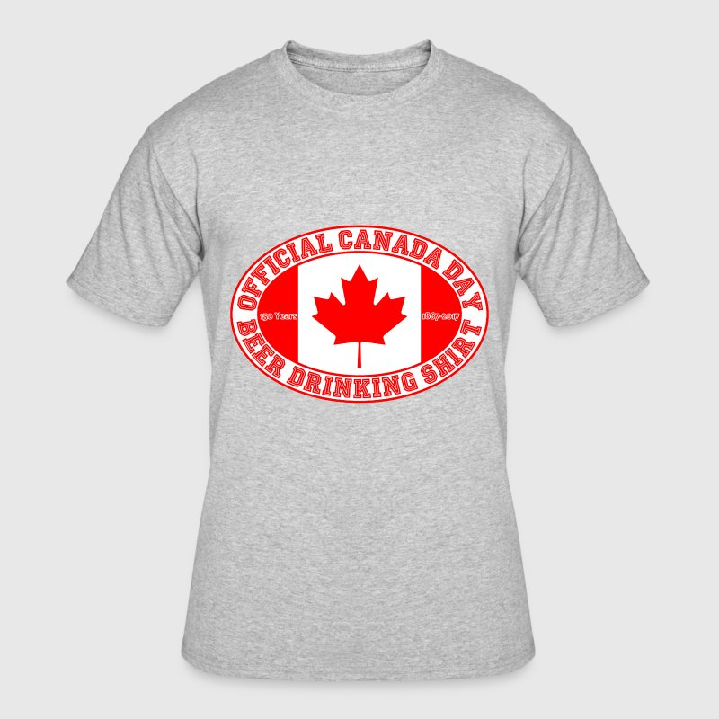 OFFICIAL CANADA DAY BEER DRINKING SHIRT 150 - Men's 50/50 T-Shirt