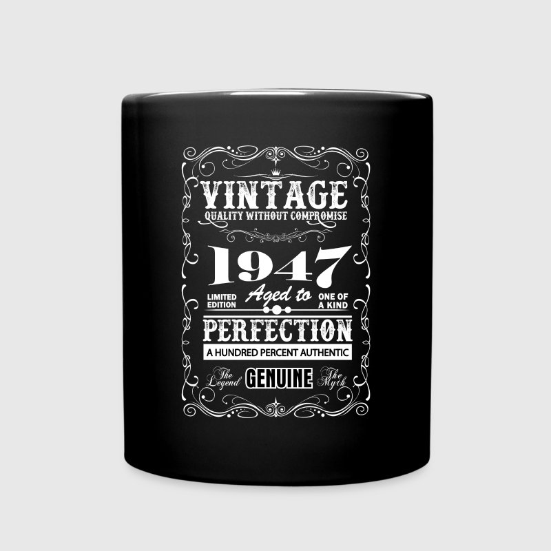 Premium Vintage 1947 Aged To Perfection Mugs & Drinkware - Full Color Mug