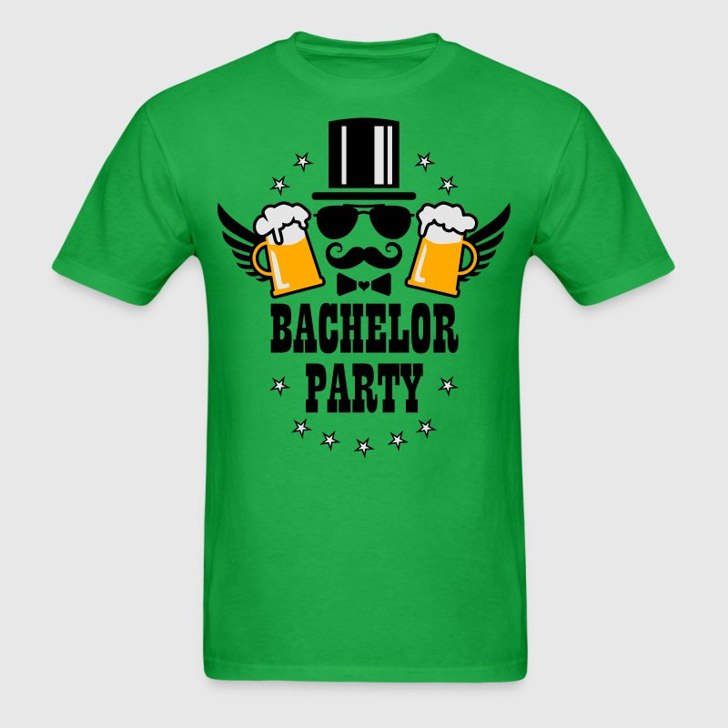 Groom Wedding Stag night bachelor Beer party Shirt - Men's T-Shirt