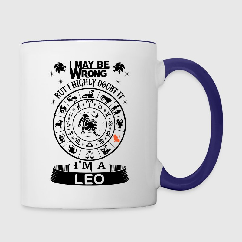 I AM A LEO Mugs & Drinkware - Contrast Coffee Mug