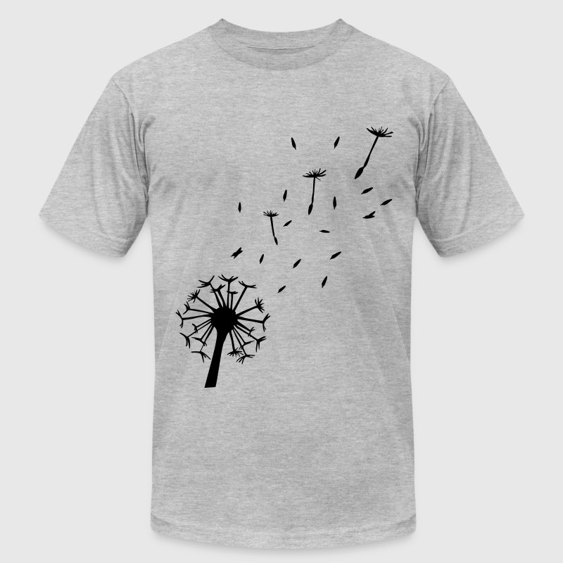 Flying Dandelion T-Shirts - Men's Fine Jersey T-Shirt