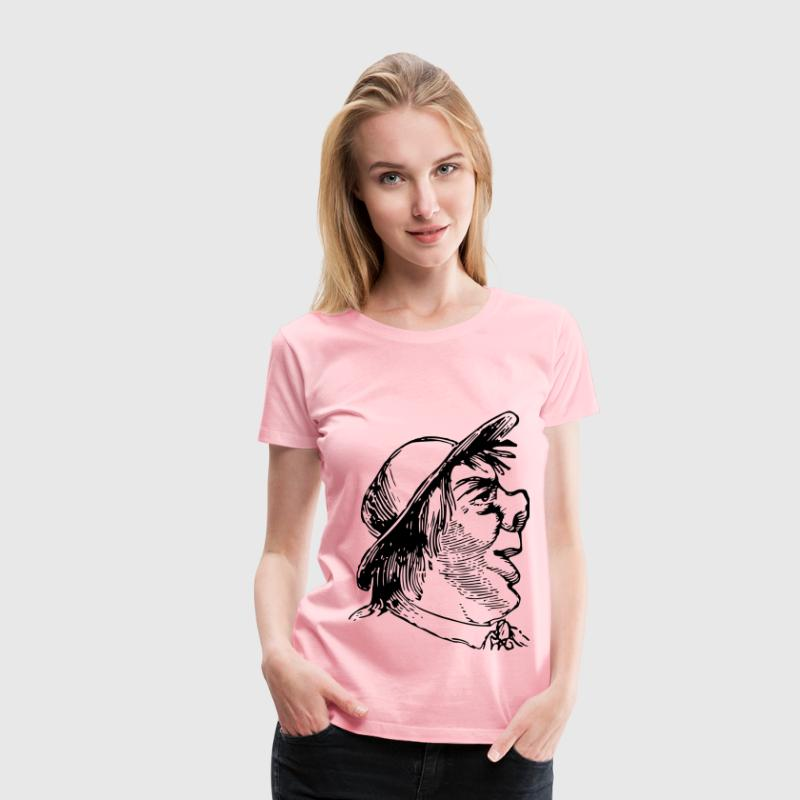 Ugly man - Women's Premium T-Shirt