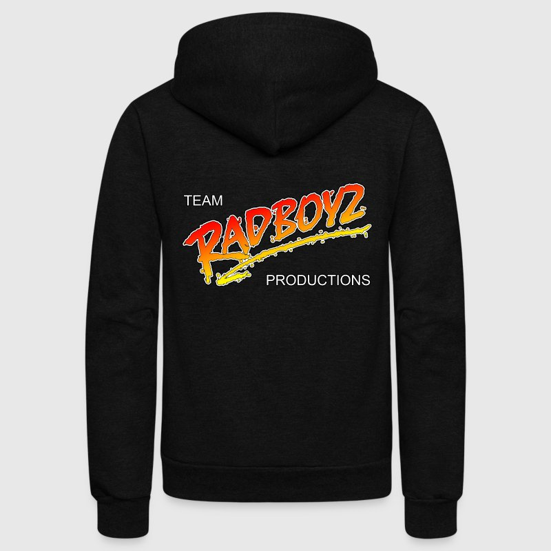 Team Radboyz Productions logo Hoodies - Unisex Fleece Zip Hoodie by American Apparel