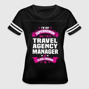 womens vintage sport t shirt - Agency Manager
