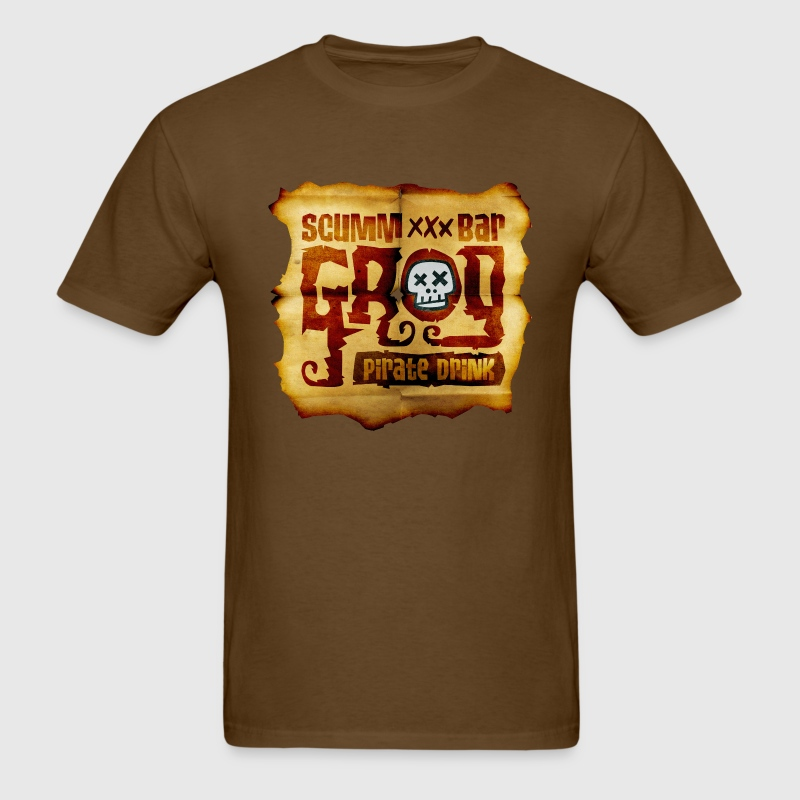 Monkey Island: Scumm Bar Grog T-Shirts - Men's T-Shirt