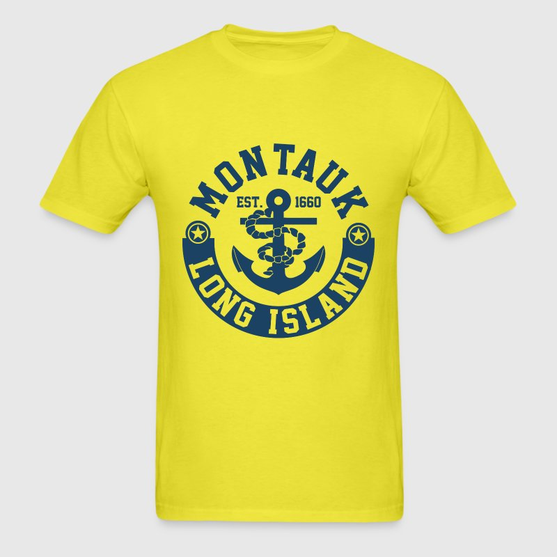 Montauk Long Island T-Shirts - Men's T-Shirt