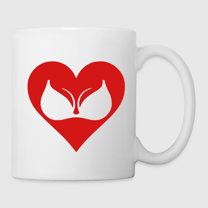 I Love Boobs Mugs & Drinkware - Coffee/Tea Mug